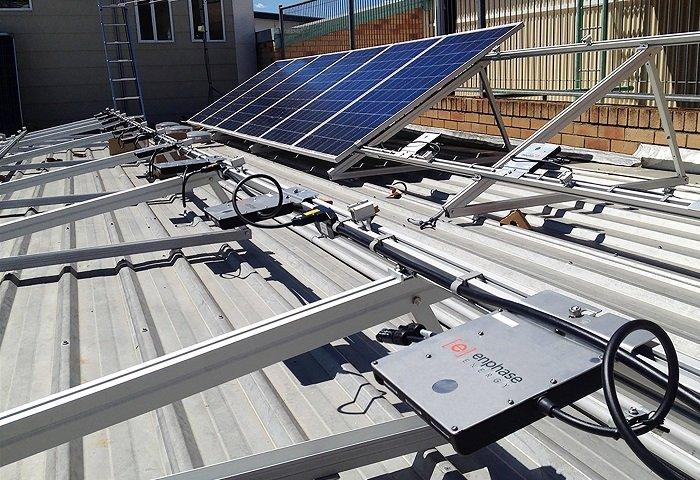 utilizar microinversores solares